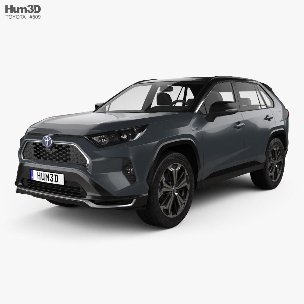 Toyota RAV4 PHEV 2020 3D model