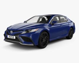 Toyota Camry XSE hybrid 2021 3D model