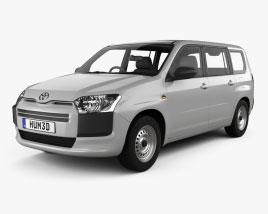 Toyota Probox DX van 2015 3Dモデル