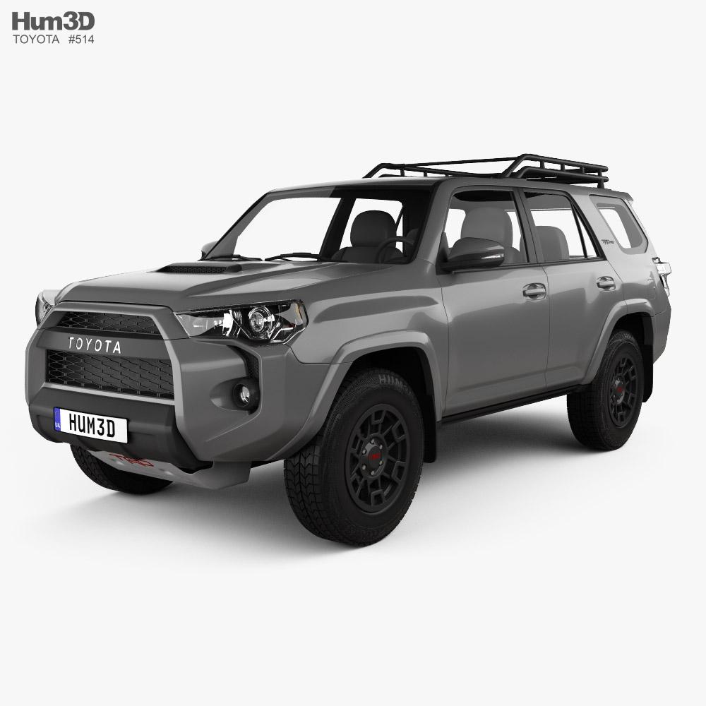 Toyota 4Runner TRD Pro 2021 3D model