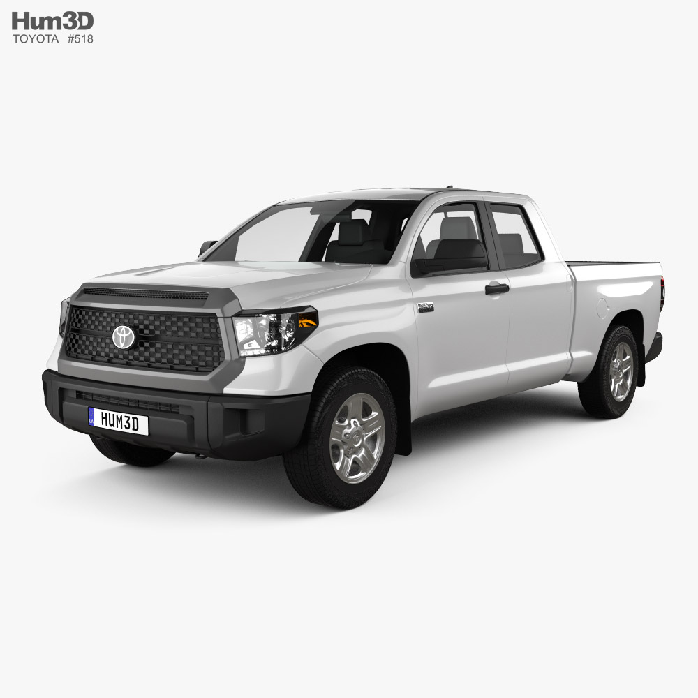 Toyota Tundra Double Cab Standard Bed SR 2021 3D model