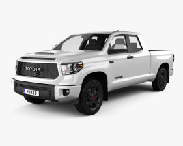 Toyota Tundra Double Cab Standard Bed TRD Pro 2021 3D model