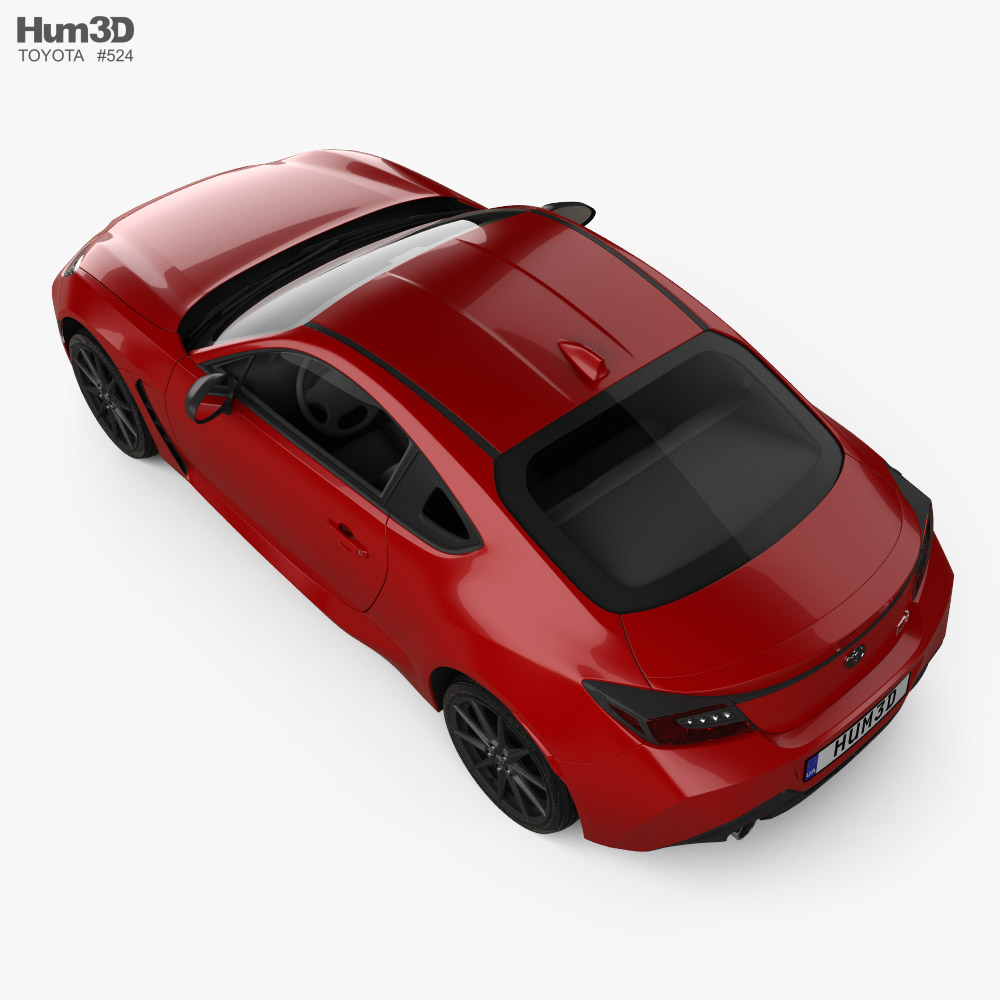 Toyota GR 86 2022 3D model