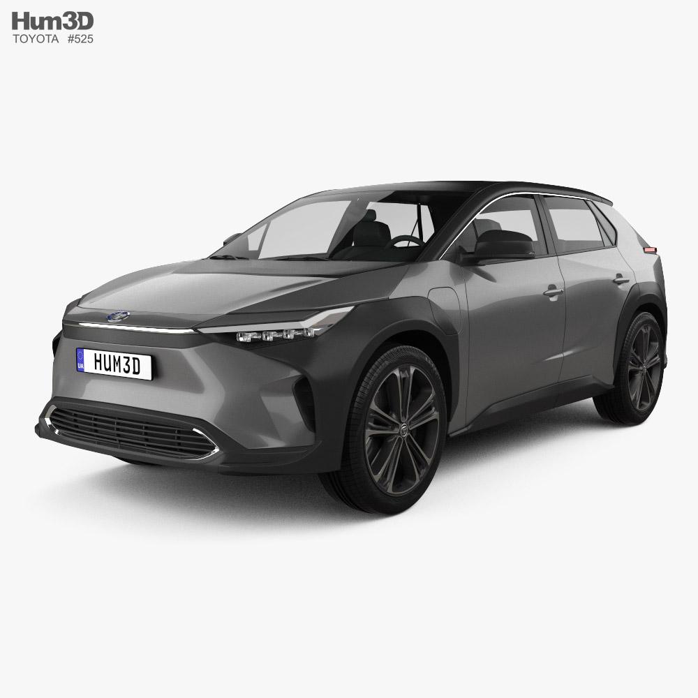 Toyota bZ4X 2021 3D model