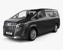 Toyota Alphard Hybrid Executive Lounge 2018 3D model