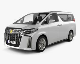 Toyota Alphard S 2021 3D model
