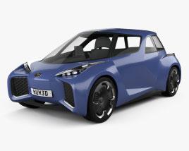 Toyota Rhombus 2022 3D model