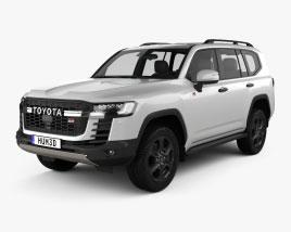 Toyota Land Cruiser GR-S 2021 Modello 3D