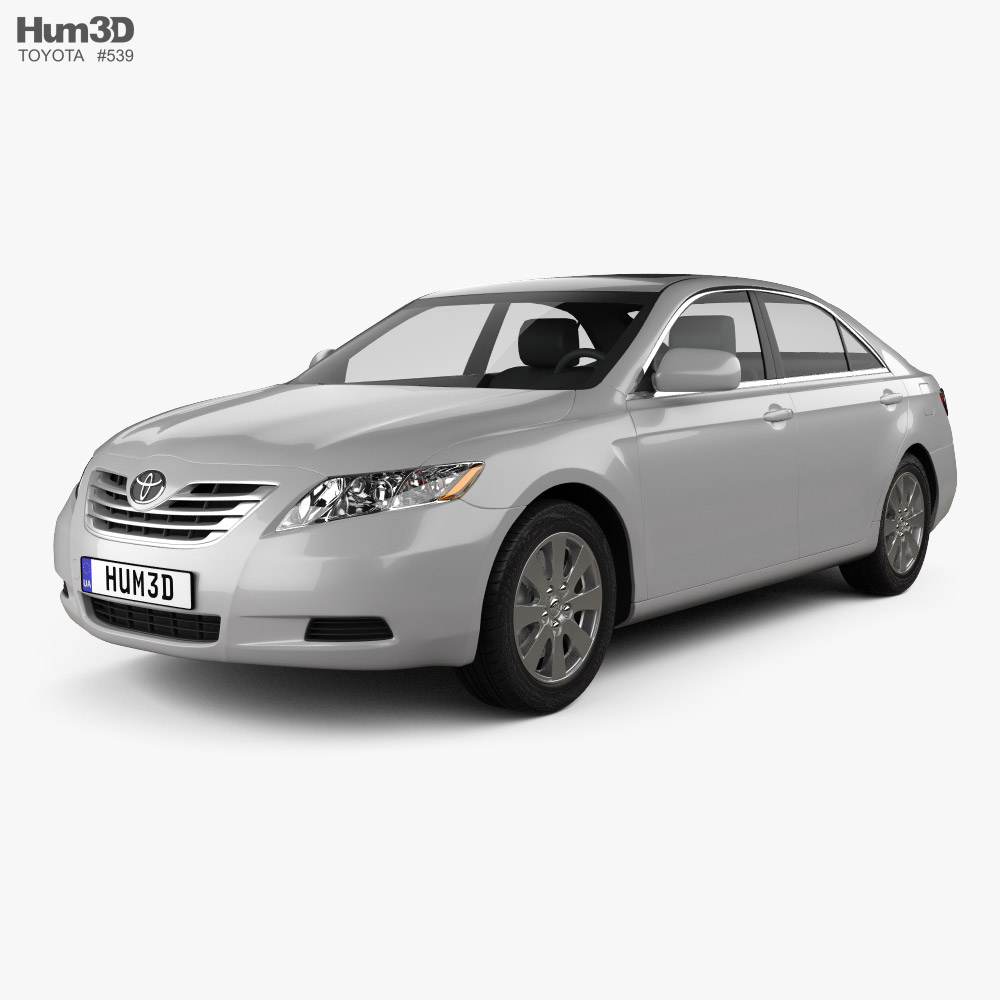Toyota Camry LE 2007 3D model