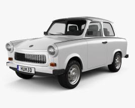 3D model of Trabant 601 Sedan 1963