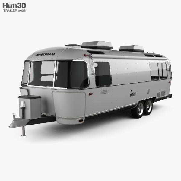 Airstream Land Yacht Travel Trailer 2014 3D model