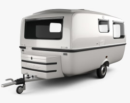 3D model of Graziella 401 Special Travel Trailer 1975