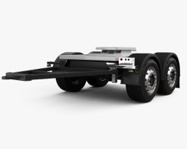 3D model of Scania Dolly Trailer 2017