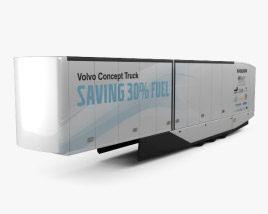3D model of Volvo FH Semi Trailer 2016