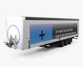 Terberg Factory Semi Trailer 2015 3D model