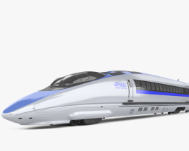 3D model of 500 Series Shinkansen