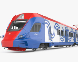3D model of Ivolga train EG2Tv