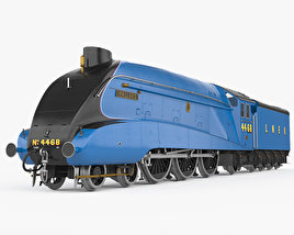 3D model of LNER Class A4 4468 Mallard 1938