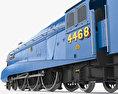 LNER Class A4 4468 Mallard 1938 Steam Locomotive 3d model