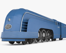 3D model of Mercury train