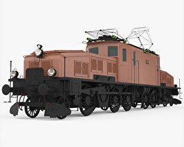 3D model of SBB Ce 6/8 San Gottardo 1920