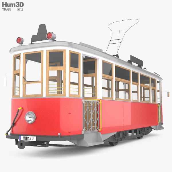 TRAM MS-1 3D model