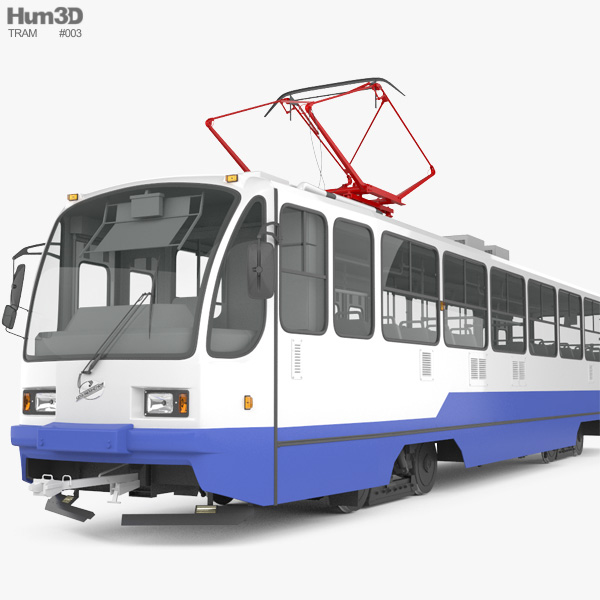 Uraltransmash 71-403 Tram 3D model