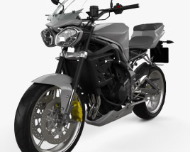 3D model of Triumph Street Triple R 2012