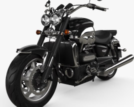 3D model of Triumph Rocket III Roadster 2013