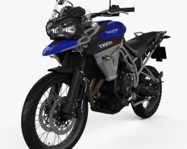 Triumph New Tiger 800 XC 2015 3D model