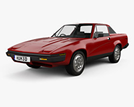 3D model of Triumph TR7 1974