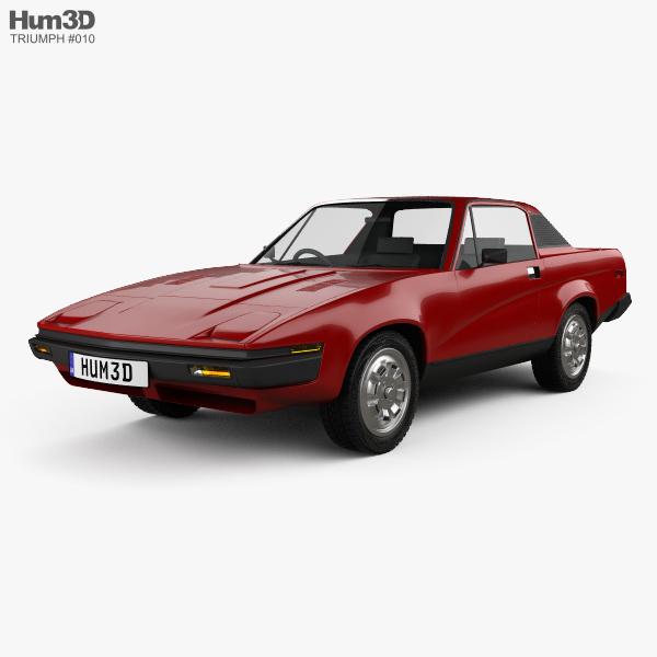 Triumph TR7 1974 3D model