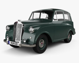3D model of Triumph Mayflower 1949
