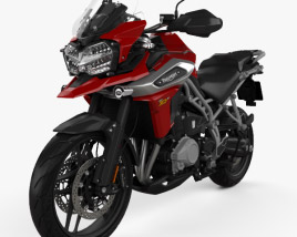 3D model of Triumph Tiger 1200 XrT 2018