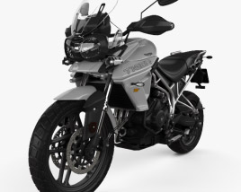 3D model of Triumph Tiger 800 XRt 2018