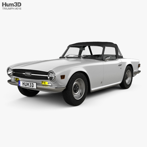 Triumph TR6 1969 3D model