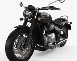Triumph Bonneville Speedmaster 2018 3D model