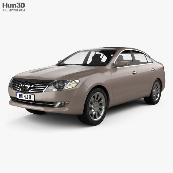 Trumpchi GA5 2010 3D model