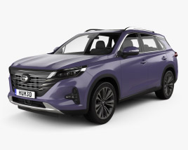 3D model of Trumpchi GS5 2018