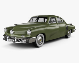 3D model of Tucker 48 Torpedo 1948