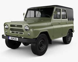 3D model of UAZ 469 B 1972