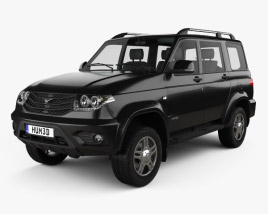 3D model of UAZ Patriot (3163) 2014