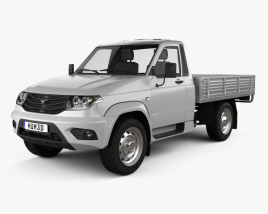 3D model of UAZ Patriot (23602-050) Cargo 2014