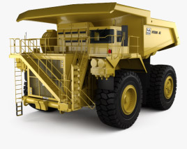 3D model of Unit Rig MT5300D AC Dump Truck 2012