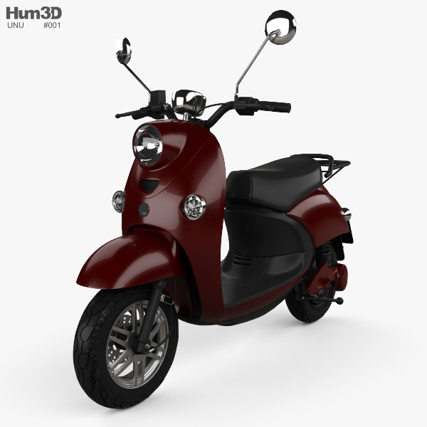 Unu Scooter 2015 3D model