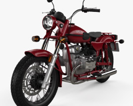 3D model of Ural Solo sT 2013