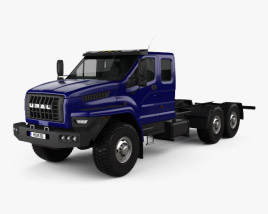 3D model of Ural Next Chassis Truck 2015