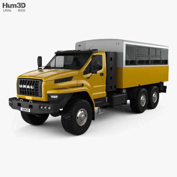 Ural Next Crew Truck 2016 Modelo 3D