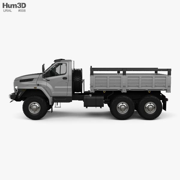 Ural Next Flatbed Truck 2016 3D model