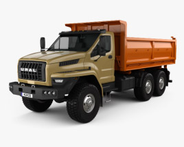3D model of Ural Next Tipper Truck 2016